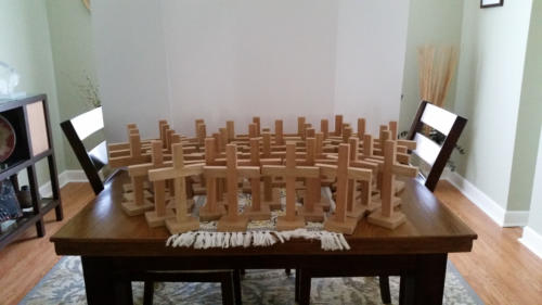 Crosses for Community Church - 2016